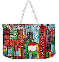 Chicago - City Of Fun - Sold Weekender Tote Bag