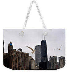 Chicago Birds 2 Weekender Tote Bag