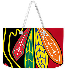 Chicago Blackhawks 2 Weekender Tote Bag