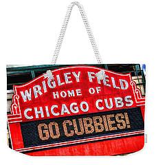 Chicago Cubs Wrigley Field Weekender Tote Bag