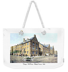 Chicago Illinois - Hull House - Halstead Avenue - 1906 Weekender Tote Bag