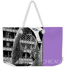 Chicago Pablo Picasso - Violet Weekender Tote Bag