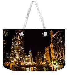 Chicago Riverwalk Weekender Tote Bag
