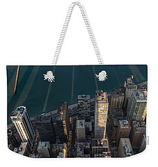 Chicago Shadows Weekender Tote Bag by Steve Gadomski