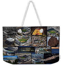 Chicago Sports Collage Weekender Tote Bag