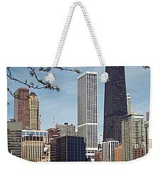 Chicago Spring Weekender Tote Bag