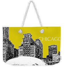 Chicago The Bean - Mustard Weekender Tote Bag