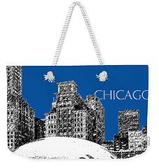 Chicago The Bean - Royal Blue Weekender Tote Bag