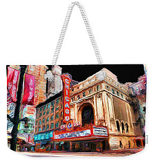 Chicago Theater - 23 Weekender Tote Bag by Ely Arsha