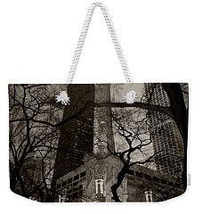 Chicago Water Tower B W Weekender Tote Bag