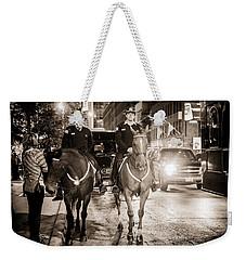 Chicago's Finest Weekender Tote Bag by Melinda Ledsome