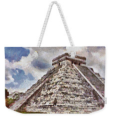 Chichen Itza Weekender Tote Bag by Jeff Kolker