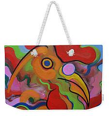 Chick Chock Fun Weekender Tote Bag