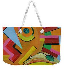 Chicken Cog Weekender Tote Bag