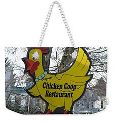 Chicken Coop Weekender Tote Bag
