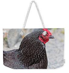 Chicken Profile Weekender Tote Bag