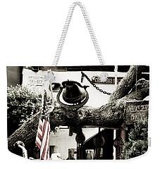 Chick's Beach Marina Weekender Tote Bag by Angela DeFrias