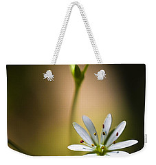 Chickweed Blossom And Bud Weekender Tote Bag by Marty Saccone