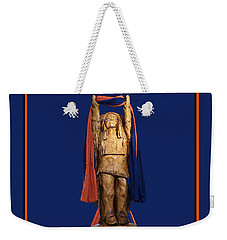 Chief Illiniwek University Of Illinois 05 Weekender Tote Bag