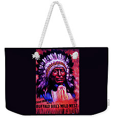 Chief Iron Tail Buffalo Bill's Wild West Weekender Tote Bag by Peter Gumaer Ogden