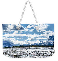 Chief Of The Mountains Weekender Tote Bag