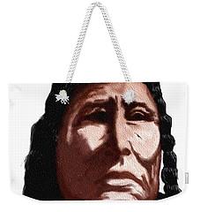 Chief Weekender Tote Bag by Terry Frederick