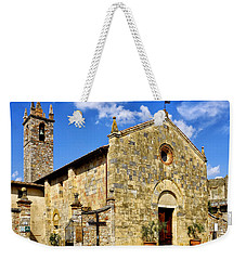 Chiesa Di Santa Maria Assunta Weekender Tote Bag by Fabrizio Troiani
