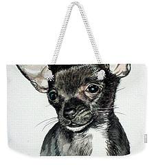 Chihuahua Black 2 Weekender Tote Bag