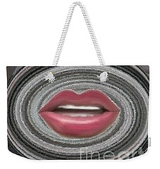 Weekender Tote Bag featuring the digital art Child by Catherine Lott