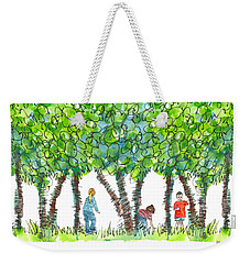 Child Play Weekender Tote Bag by Kathleen McElwaine