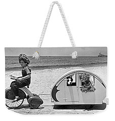 Children Beach Tour Weekender Tote Bag
