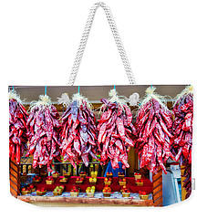 Chile Ristras And Apples Weekender Tote Bag