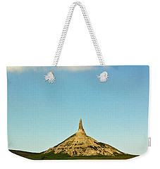 Chimney Rock Nebraska Weekender Tote Bag
