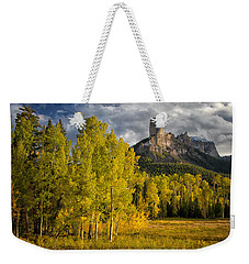Chimney Rock San Juan Nf Colorado Img 9722 Weekender Tote Bag
