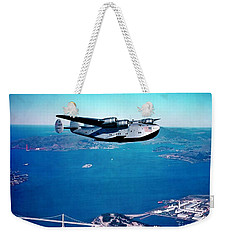 China Clipper Weekender Tote Bag by Pg Reproductions
