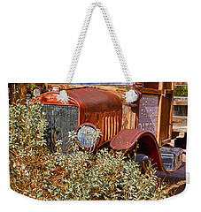 China Ranch Truck Weekender Tote Bag by Jerry Fornarotto