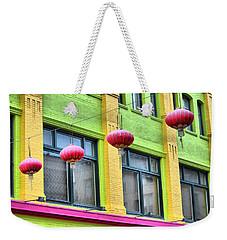 Chinatown Colors Weekender Tote Bag