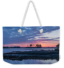 Chincoteague Wildlife Refuge Dawn Weekender Tote Bag by Photographic Arts And Design Studio
