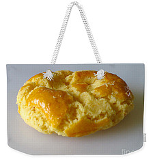Weekender Tote Bag featuring the photograph Chinese Almond Cookie by Nina Silver