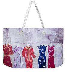 Chinese Dresses Weekender Tote Bag