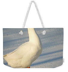 Chinese Goose Winter Weekender Tote Bag