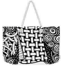 Chinese Horse - Zentangle Weekender Tote Bag by Jani Freimann