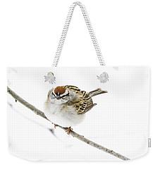 Chip Weekender Tote Bag