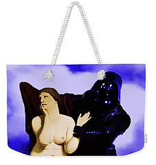 Chivalry Weekender Tote Bag by Sasha Keen