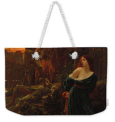 Chivalry Weekender Tote Bag by Sir Frank Dicksee