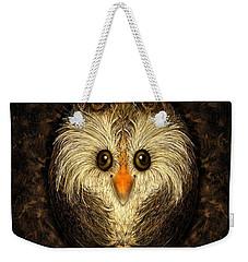 Chocolate Nested Easter Owl Weekender Tote Bag