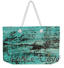 Weekender Tote Bag featuring the photograph Choose Love by Jocelyn Friis