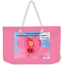 Choose Your Quote Choose Your Picture 2 Weekender Tote Bag
