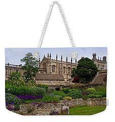 Christ Church In Spring Weekender Tote Bag by Rona Black