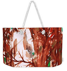 Christ In The Forest Weekender Tote Bag